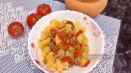 Фото рецепта Картофель с грибами и изюмом в горшочке