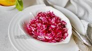 Фото рецепта Салат из капусты со свёклой на цитрусовой заправке