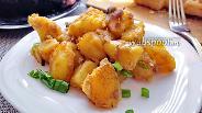 Фото рецепта Хрустящая картошка с грибами