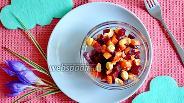 Фото рецепта Салат из репы и свёклы