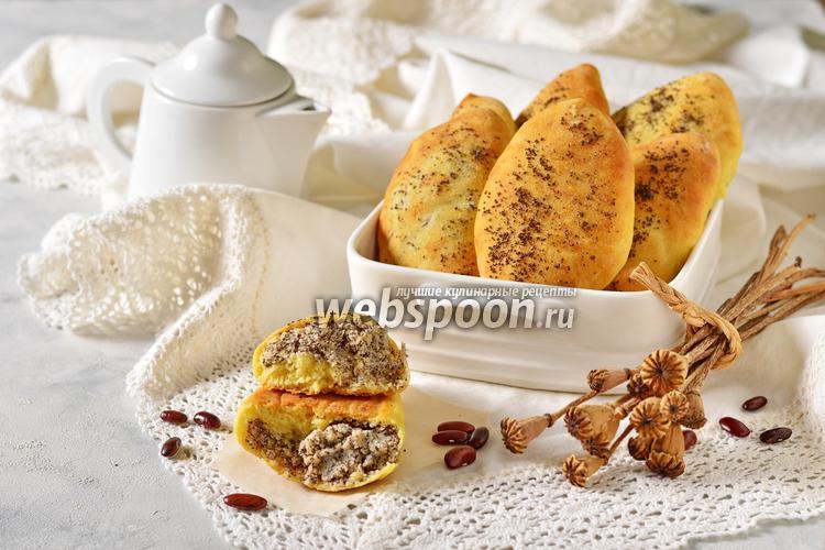Фото Пирожки с фасолью и маком