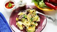 Фото рецепта Свинина в соусе ткемали с картошкой