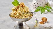 Фото рецепта Творожная масса с орехами