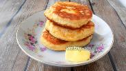 Фото рецепта Кокосовые оладьи с сыром и псиллиумом