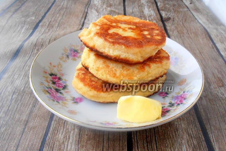 Фото Кокосовые оладьи с сыром и псиллиумом