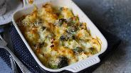 Фото рецепта Запечённая цветная капуста с брокколи в духовке