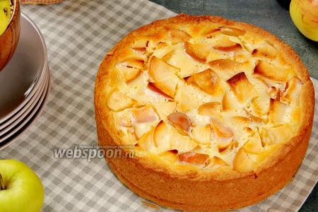 Яблочные пироги по-новому. Видео видео рецепт