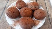 Фото рецепта Шоколадные постные кексы
