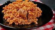Фото рецепта Плов из гречки со свининой. Видео