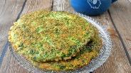 Фото рецепта Лепёшка со шпинатом и пармезаном