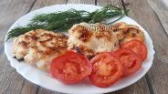 Фото рецепта Куриные котлеты с жареным луком