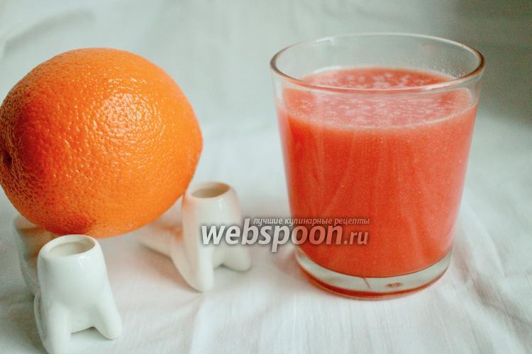 Фото Арбузно-апельсиновый лимонад