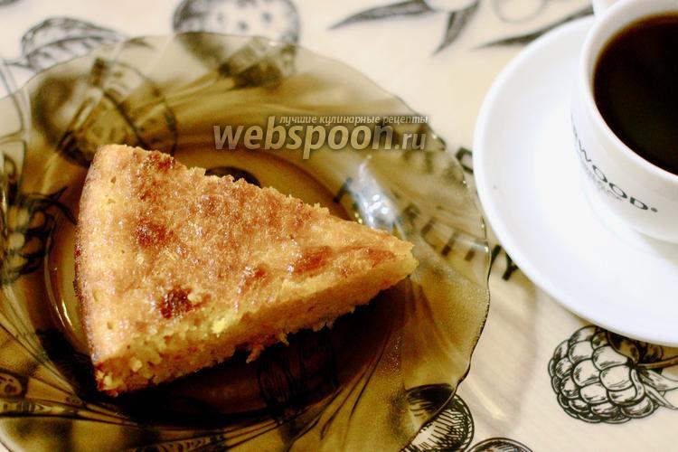 Фото Морковный пирог с апельсином