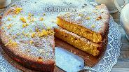 Фото рецепта Апельсиновый манник