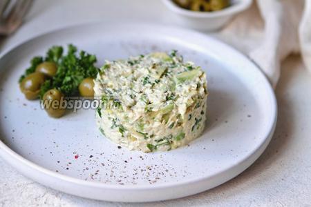 Фото рецепта Венесуэльский кето салат из курицы