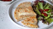 Фото рецепта Овсяноблин с сыром