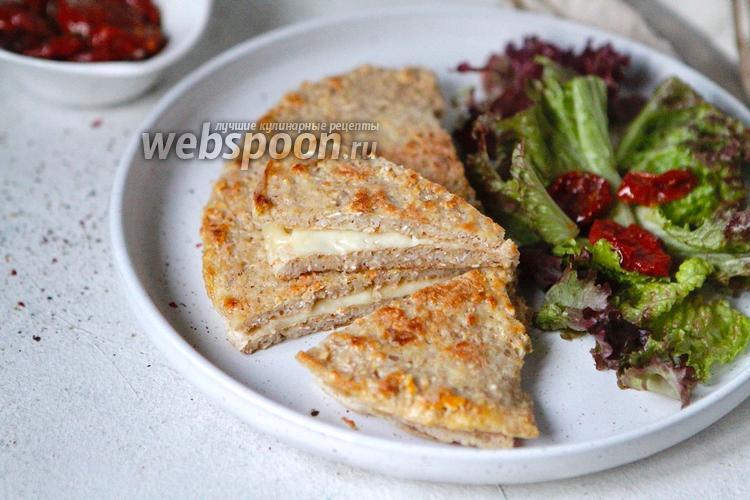 Фото Овсяноблин с сыром