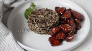 Фото рецепта Рис с курицей в соусе терияки