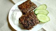 Фото рецепта Гречаники из печени в духовке