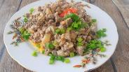 Фото рецепта Фарш с грибами и сметаной