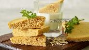 Фото рецепта Овсяный хлеб в микроволновке