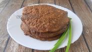 Фото рецепта Блины из куриной печени на сметане