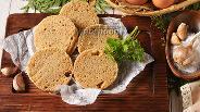 Фото рецепта Хлеб с чесноком в микроволновке