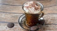 Фото рецепта Сливочный десерт с тёртым шоколадом