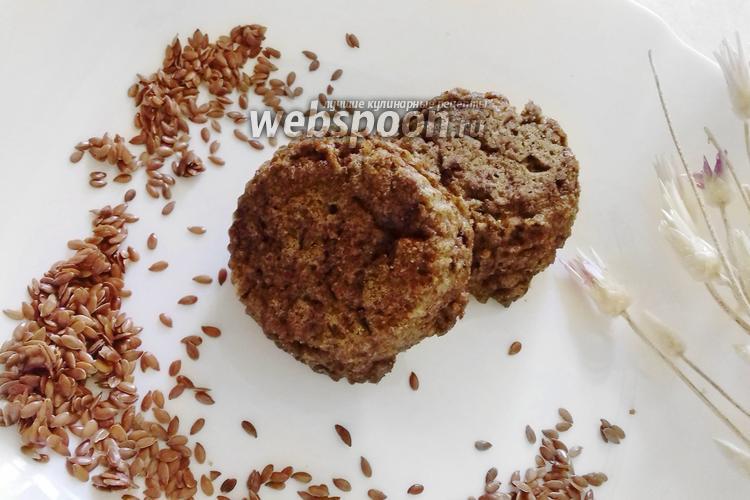 Фото Кето-хлеб из льняной муки в пароварке