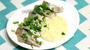 Фото рецепта Солёная сельдь под картофельным соусом