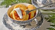 Фото рецепта Кокосовые сырники в духовке