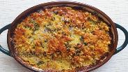 Фото рецепта Запеканка из лапши с колбасой