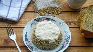 Фото рецепта Перловка с соусом бешамель