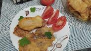Фото рецепта Морской язык в майонезно-яичном кляре