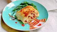 Фото рецепта Мекленбургский картофельный рулет со шкварками