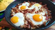 Фото рецепта Мясо с острым перцем и яйцом