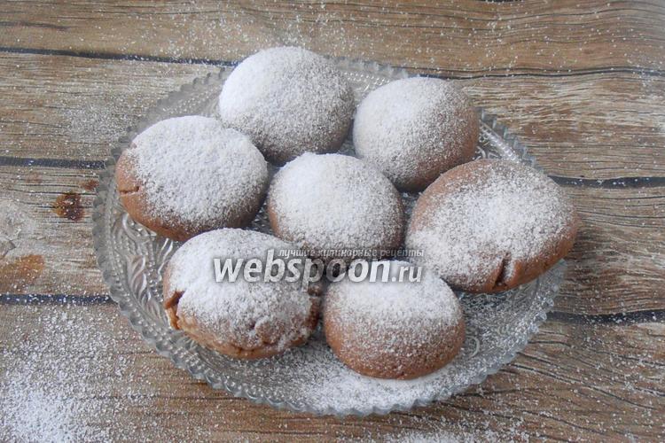 Фото Постное печенье с какао