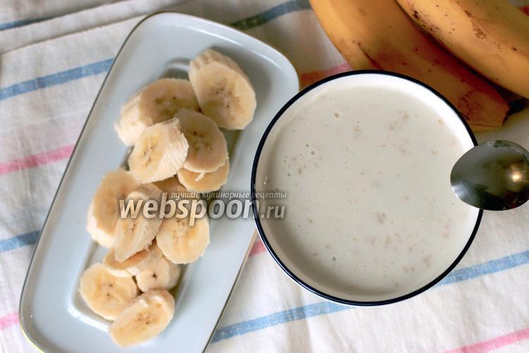 Фото Детская нежная овсянка на молоке