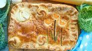 Фото рецепта Пирог с савойской капустой