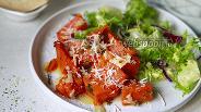Фото рецепта Запечённая тыква с тёртым пармезаном