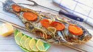 Фото рецепта Толстолобик с овощами в духовке