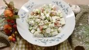 Фото рецепта Овощной салат с адыгейским сыром