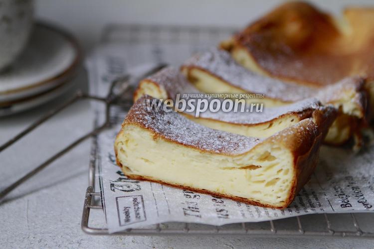 Фото Творожная запеканка с кокосовым молоком