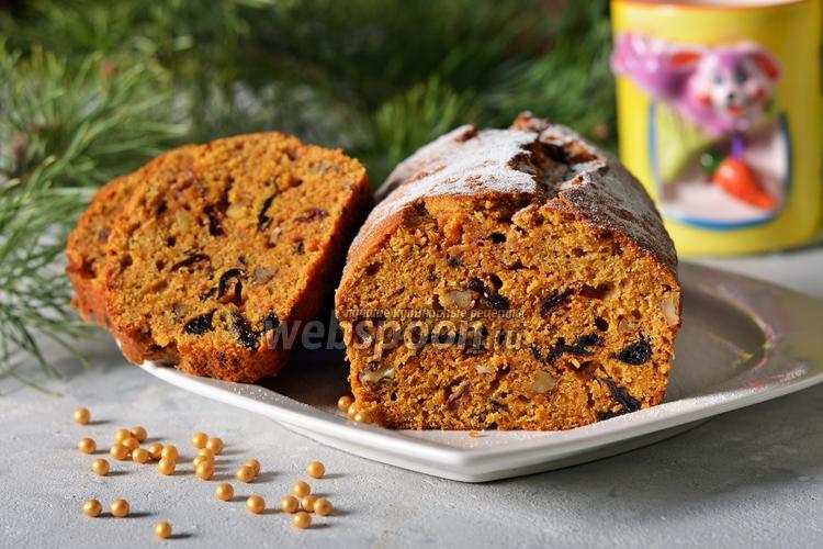 Фото Морковный пирог с апельсиновой цедрой