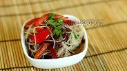 Фото рецепта Рисовая лапша с овощами