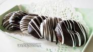 Фото рецепта Безглютеновые шоколадные пончики