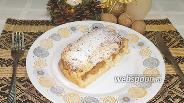Фото рецепта Творожная запеканка с арахисовой пастой