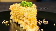 Фото рецепта Торт «Пломбир» без выпечки. Видео