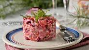 Фото рецепта Финский салат росоли с селёдкой и свёклой
