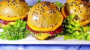 Фото рецепта Вегетарианский бургер